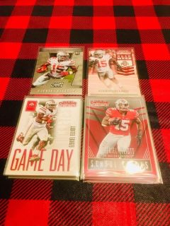 23 rookie card lot of Ezekiel Elliott Dallas Cowboys Ohio State INVESTMENT OPPORTUNITY
