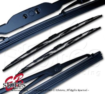 "Purchase Set of 2 OEM Replacement Bayonet Arm Wiper Blades 18"" Driver, 18"" Passenger Side motorcycle in La Puente, California, US, for US $11.85"