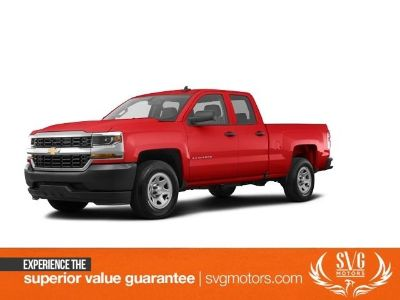 2018 Chevrolet Silverado 1500 Custom (Red)