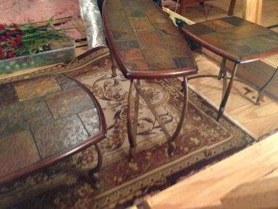 Set of Tables (coffee,couch table and end table