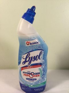 Whysall with hydrogen peroxide toilet bowl cleaner, SALE