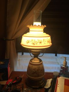 Set of vintage style lamps