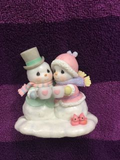 Precious Moments Snowbody warms my heart like you