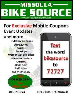$600 Missoula Bike Source [phone removed]