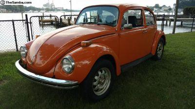 "1972 VW ""Marathon"" Super beetle"