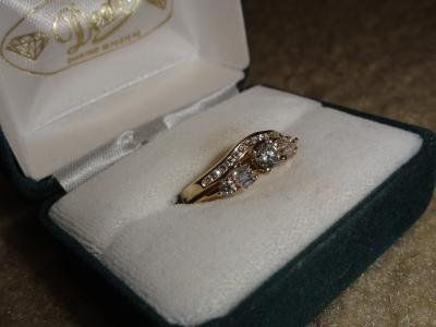 Beautiful Wedding Ring 14K