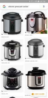 In Search of: Electric Pressure Cooker