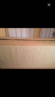 King Size Box Springs with King Size Bed Rails on Wheels
