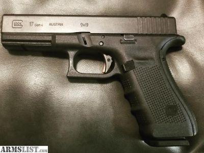 For Sale/Trade: gen4 glock17 zev adjustable trigger