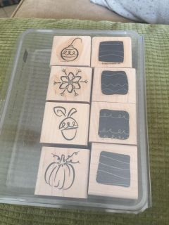 Little layers stamp set