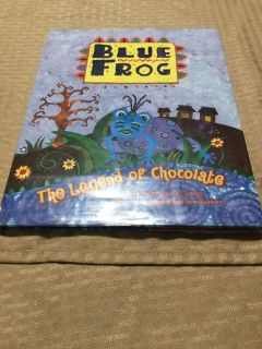 Blue frog the legend of chocolate book g3