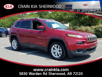 2016 Jeep Cherokee FWD 4DR LATITUDE (Deep Cherry Red)