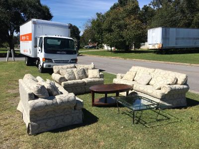 Couch & 2 love seats - Marcus Pointe Thrift Store