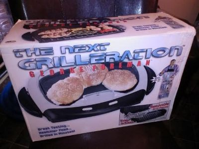 New / George Foreman The Next Grilleration Grill