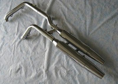 $125 OBO Harley Davidson Fat Boy factory exhaust pipes