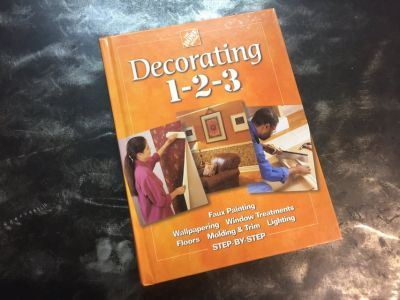Home Depot decorating book