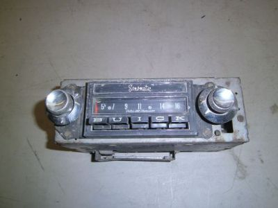 Buy 1963 Buick Sonomatic Radio Vintage motorcycle in Joliet, Illinois, United States, for US $95.00