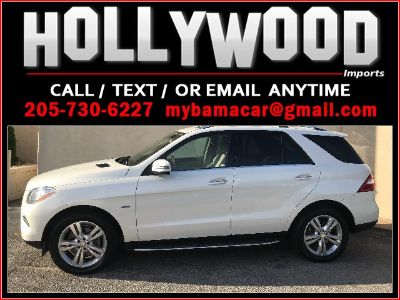 2012 Mercedes-Benz M-Class ML350 4MATIC (White)
