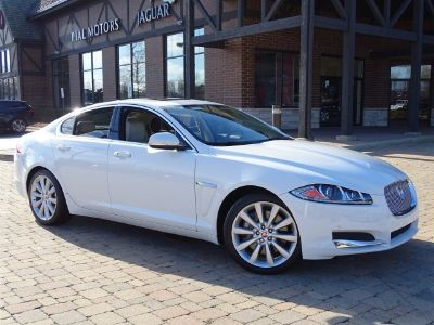 2014 Jaguar XF 3.0 (Polaris White)