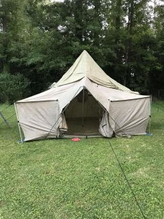 Cabela s Alaknak 12x12 tent with stove port