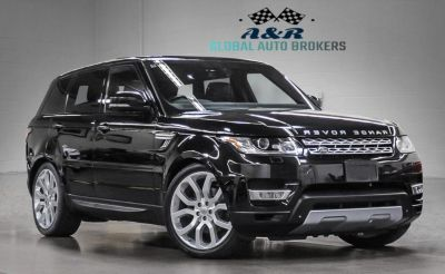 2014 Land Rover Range Rover Sport Supercharged (Black)