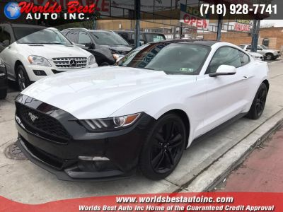 2015 Ford Mustang 2dr Fastback EcoBoost Pr (Oxford White)