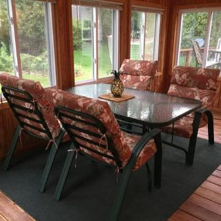 9-piece Patio Furniture Set with Cushions