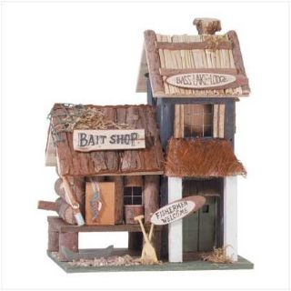 Designer Birdhouse: Bass Lake Lodge 31245 New