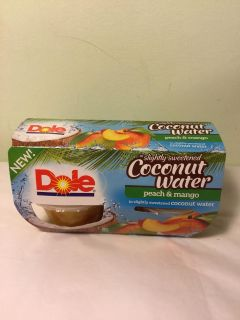 Dole peach and mango in slightly sweetened coconut water