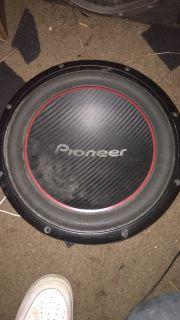 Pioneer 12 speaker