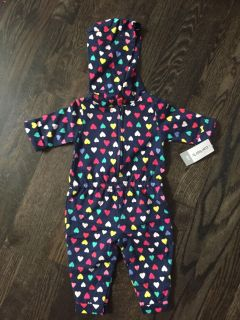 NWT 6m Hooded One Piece
