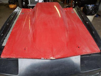 "1967-1969 Camaro 6""cowl hood"