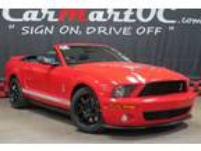 Used 2008 Ford Mustang Shelby GT500 Convertible