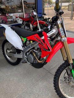 2012 Honda CRF 250R Motocross Bikes Petaluma, CA