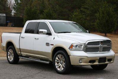 2016 RAM 1500 Eco Diesel Longhorn 4x4 (White)