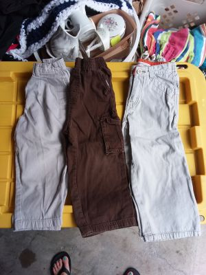 3 pc. Boy's size 3t pants excellent condition all for $3
