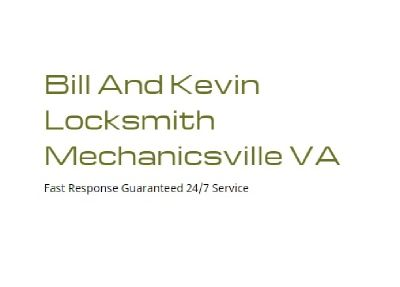 Bill and Kevin Locksmith Mechanicsville VA