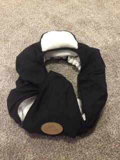 Black cozy cover car seat cover