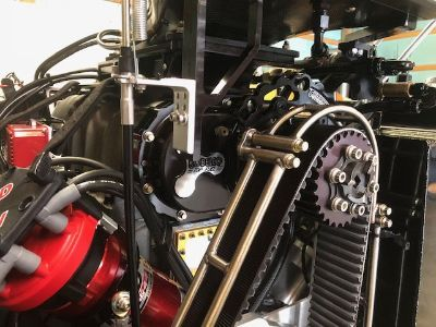 1471 Kobelco K8 blower supercharger with spacer