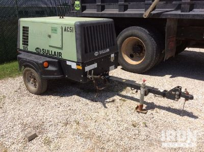 2014 Sullair 185DPQ CAi4 EPA 185 CFM Air Compressor