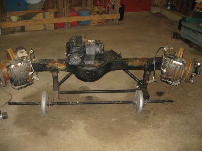 rockwell axles, disc brakes, hydro steering