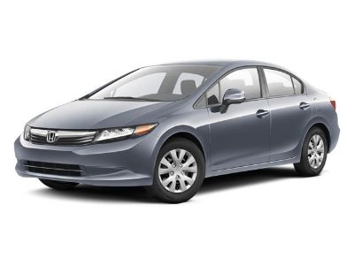 2012 Honda Civic LX (Polished Metal Metallic)