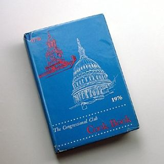 Congressional Club Cook Book 1976 Edition