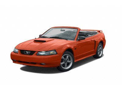 2002 Ford Mustang GT Deluxe (Red)