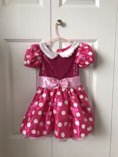 Minnie Mouse costume - size 2-3
