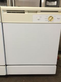 "Whirlpool 24"" Dishwasher in White"