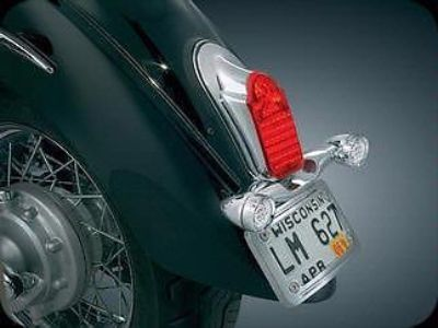 Purchase Kuryakyn Tombstone Taillight with Turnsignal Mount motorcycle in Ashton, Illinois, US, for US $149.99