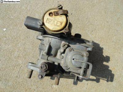 Volkswagen Beetle 28 PICT Carburetor.