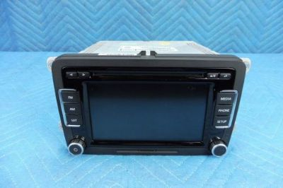 Buy VW PASSAT 6-Disc Media Satellite CD Player Radio 1K0035180AE 2012-2015 OEM motorcycle in Jacksonville, Florida, United States, for US $235.00