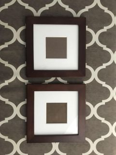 2 12 x 12 Picture Frames $10!